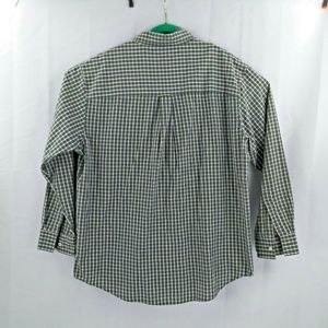 Chaps Shirts - Chaps Ralph Lauren Easy Care Mens XL Green Plaid C